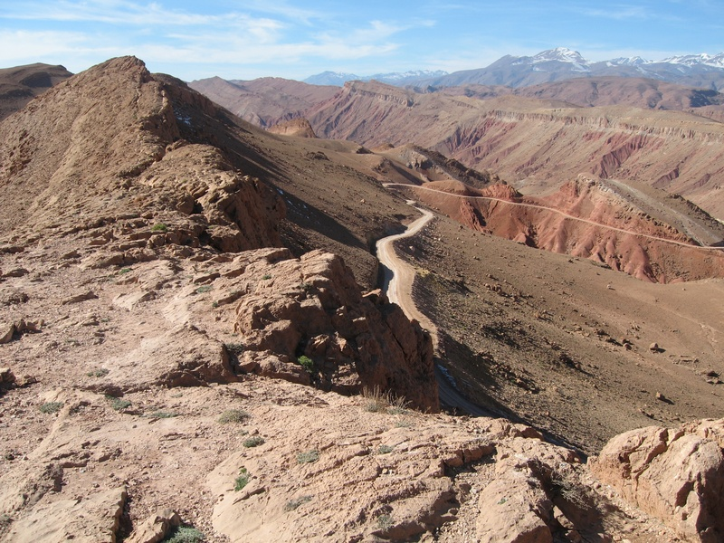 Landscape Mount Mgoun